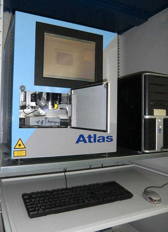 Atlas Betonprüfung Strobotech